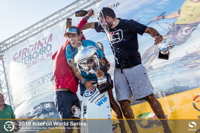Mazella clinches second KiteFoil world title with a flourish at series finale in Italy